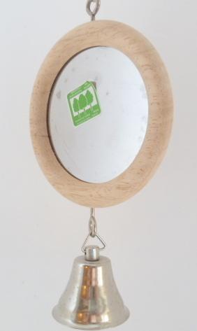 Großer Runder Spiegel Mit Glocke